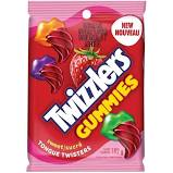 TWIZZLERS GUMMIES SWEET TONGUE TWISTERS CANDY 182G (6.4OZ) BAG