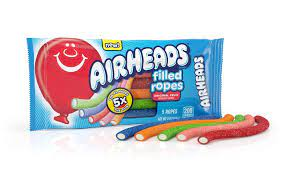 Airheads Filled Ropes Candy 2oz Package