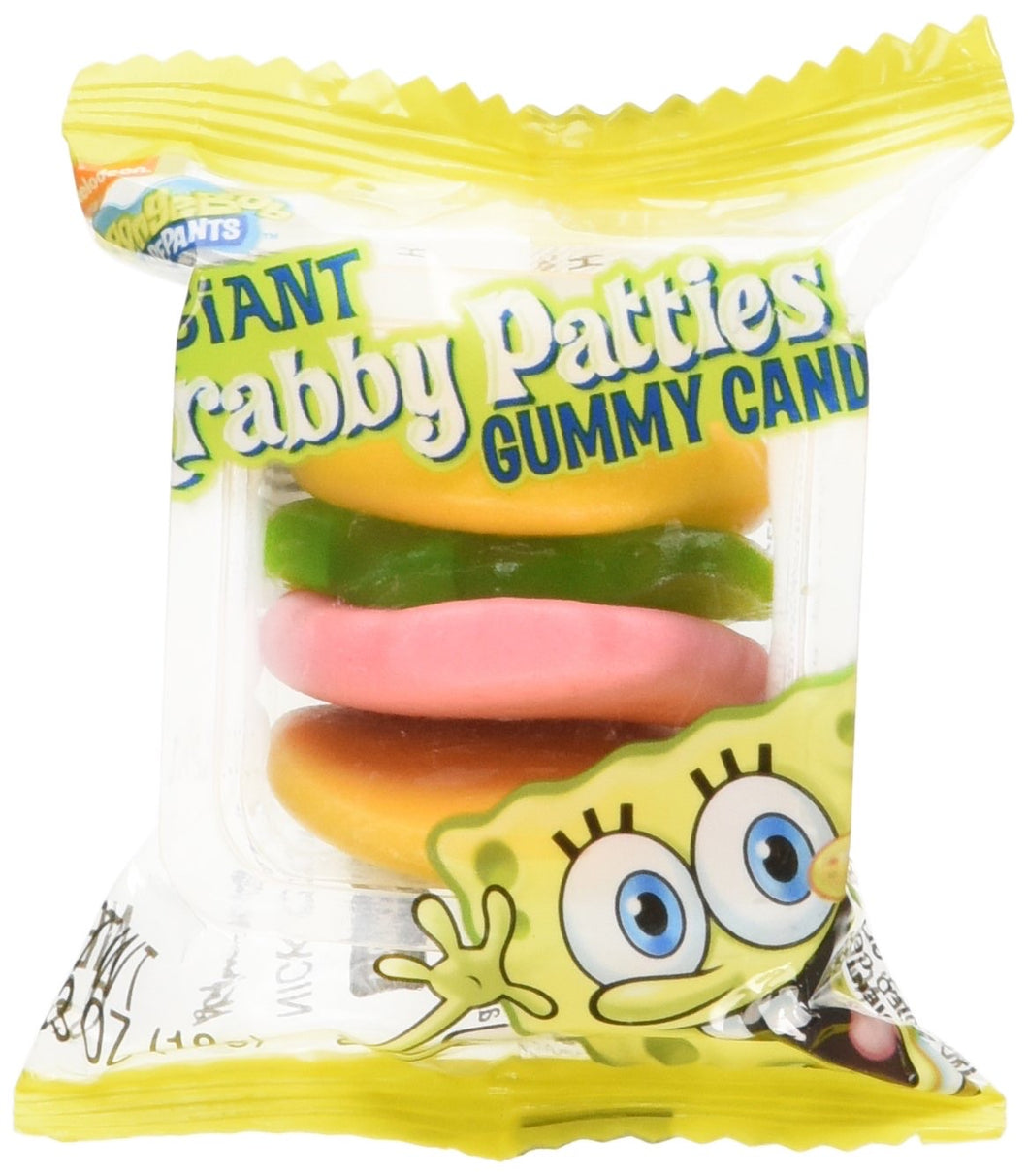 Krabby Patties Gummy Candy 0.62 oz