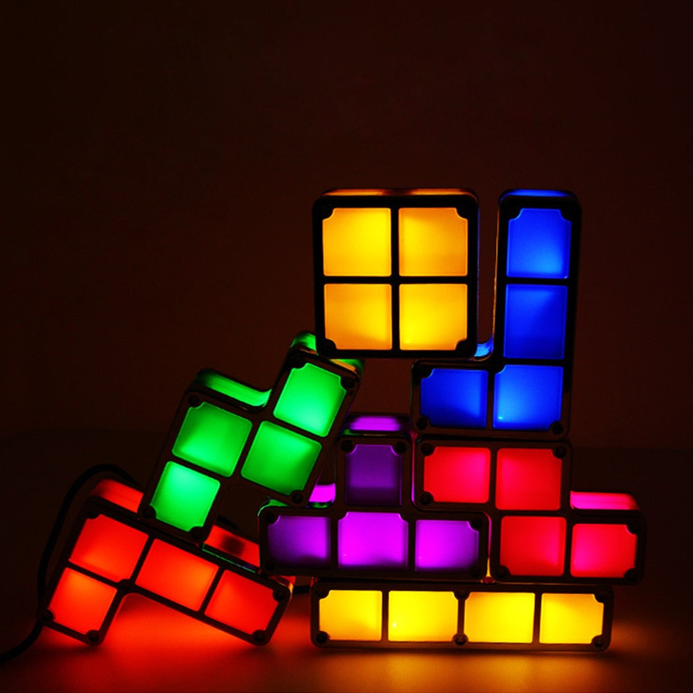 Techaxon Tetris Lights
