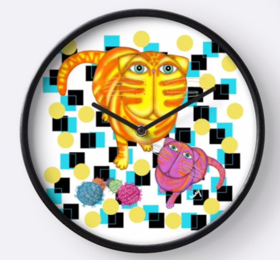 Wanna Play? Wall Clock