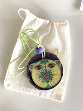 Load image into Gallery viewer, Cat Pendant Catrina Bright Green