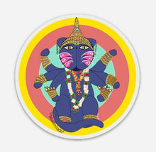 Load image into Gallery viewer, Gato Vishnu Stickers