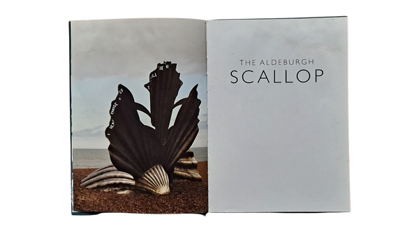 the aldeburgh scallop book by maggi hambling inside front cover