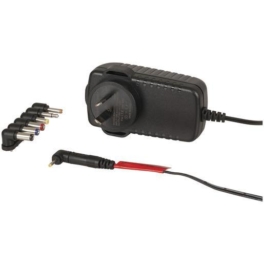 24V DC 1.25A Power Supply 7DC Plugs