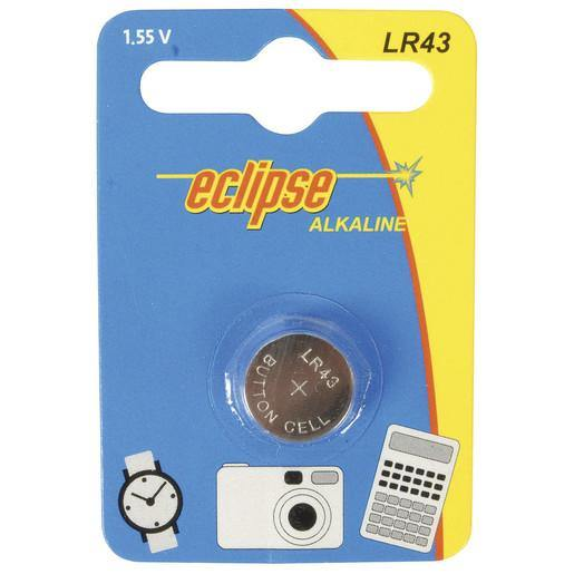 LR-43 Alkaline 1.5V Watch/Game/Camera Battery (186/LR43)