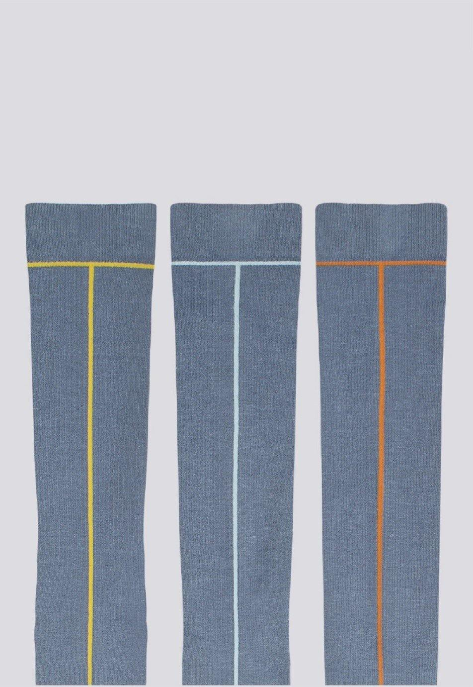 Graduated Hemp Compression Socks - Sea Angel - LockrSpace