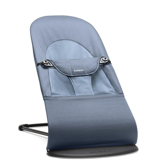 Baby Bjorn Bouncer Balance Soft in Fog Blue Cotton