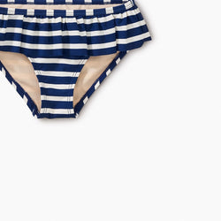 Tea Collection Striped Ruffle Bum Bikini Bottom