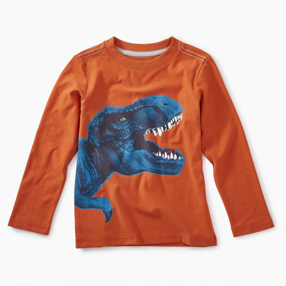 7ac4f3254 Tea Collection T-Rex Graphic Tee in Terra – Lusso Kids Inc.