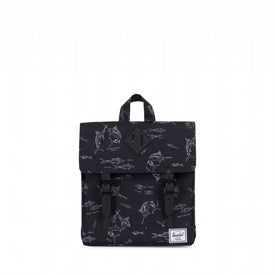 Herschel SURVEY KID POLY/RUBBR SALTWATER