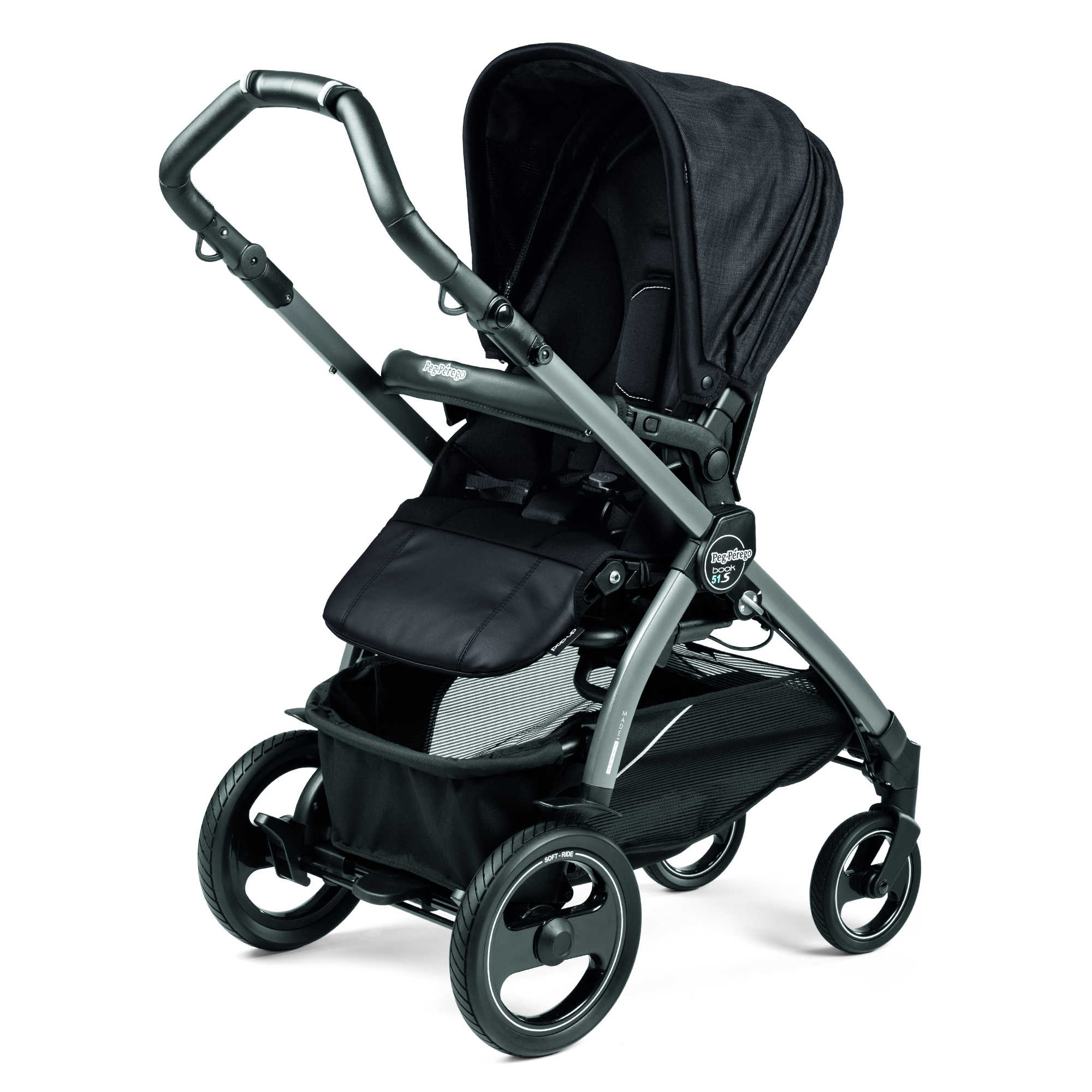peg perego book 51 s completo stroller lusso kids inc. Black Bedroom Furniture Sets. Home Design Ideas