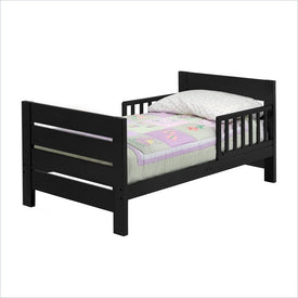 DaVinci Modena Wood Toddler Bed in Ebony