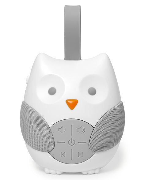 Skip Hop STROLL & GO portable baby soother in TRAVEL SOOTHER OWL