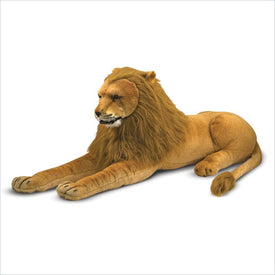 Melissa & Doug Lion Plush Stuffed Animal