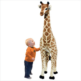 Melissa & Doug Giraffe Plush Stuffed Animal