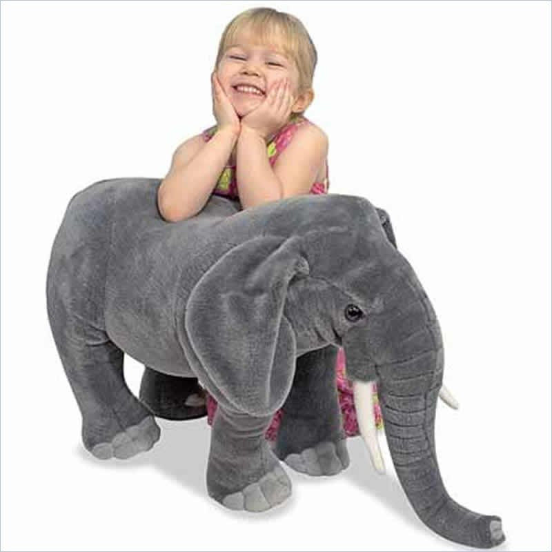 Melissa & Doug Large Elephant Plush Stuffed Animal