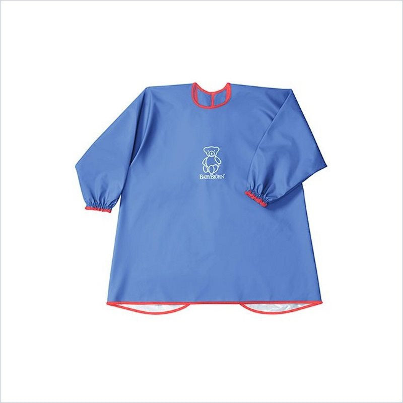 Baby Bjorn Eat & Play Smock in Blue