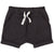 Miles Baby Baby Shorts Knit Dark Grey
