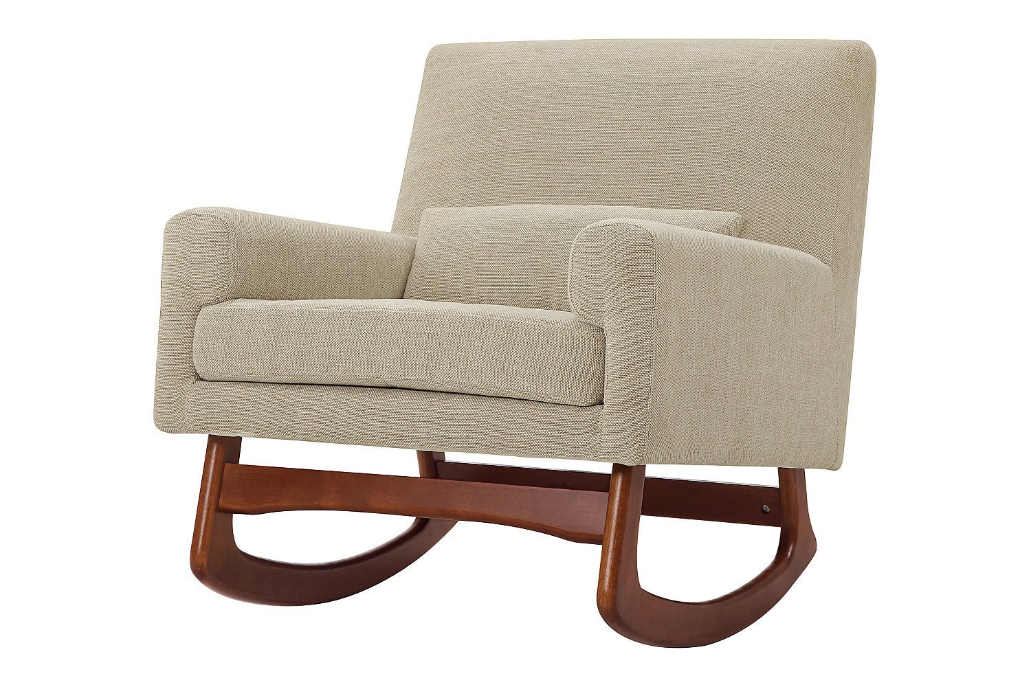 Nurseryworks Sleepytime Rocker Chair With Walnut Legs