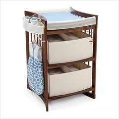 Stokke Care Baby Changing Table in Walnut Brown
