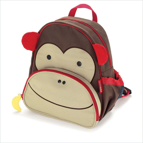 Skip Hop Zoo Pack Little Kid Backpack in Monkey