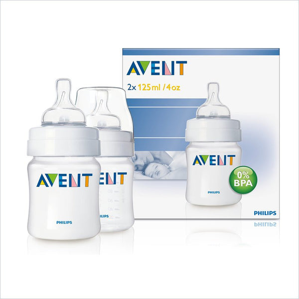 Avent 4oz PP Bottle Twin Pack