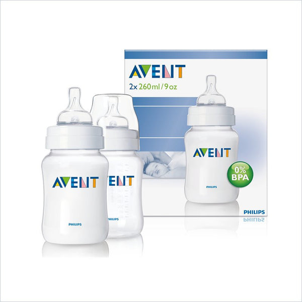 Avent 9oz PP Bottle Twin Pack