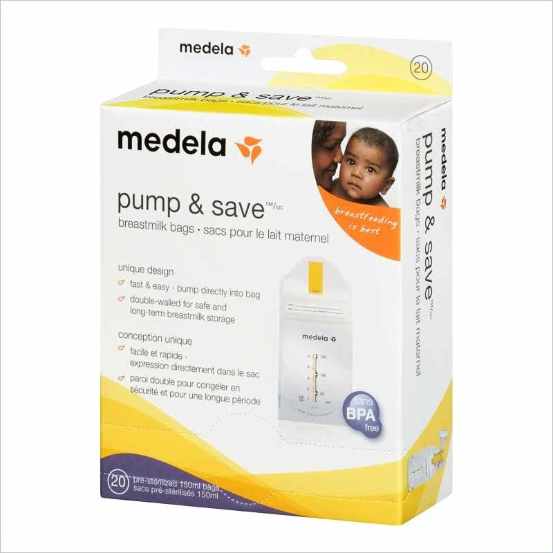 Medela Pump & Save Breastmilk Storage Bags