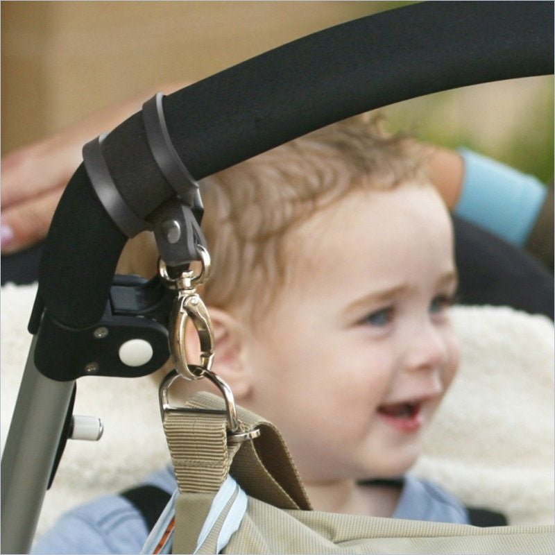 JJ Cole Grips Stroller Bag Attachment in Graphite