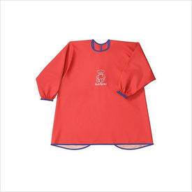 Baby Bjorn Eat and Play Smock in Red