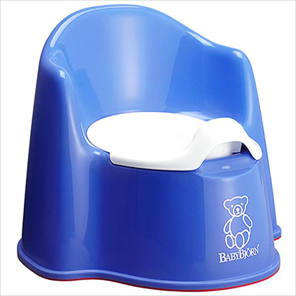Baby Bjorn Baby Potty Chair in Blue