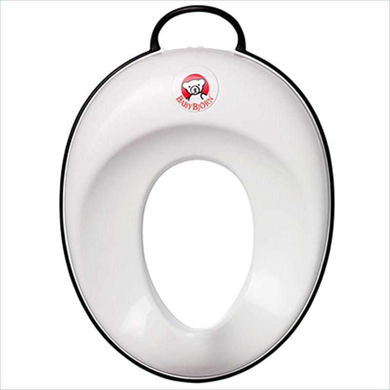 Baby Bjorn Toilet Trainer in White and Black