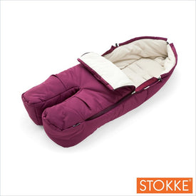Stokke Xplory Footmuff in Purple