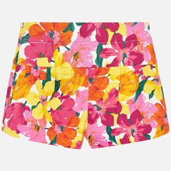 Mayoral Floral shorts for girl