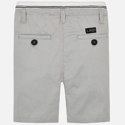 Mayoral Bermuda shorts with drawstring for boy in Marble