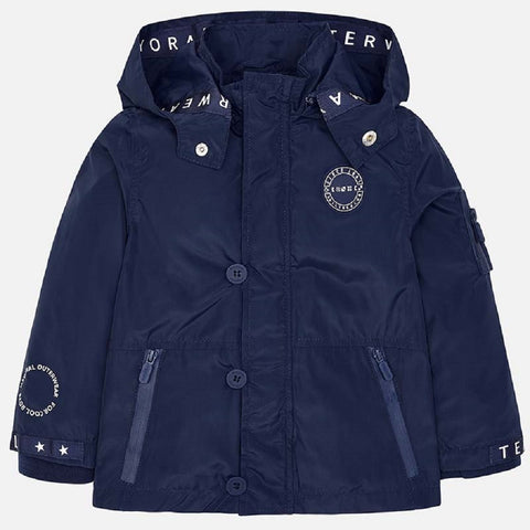 51d339fba84c Mayoral Nautical windbreaker jacket for boy in Navy Blue – Lusso ...