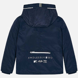 Mayoral Nautical windbreaker jacket for boy in Navy
