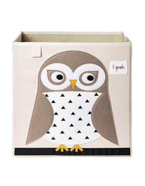3 Sprouts  Storage Box in Owl White