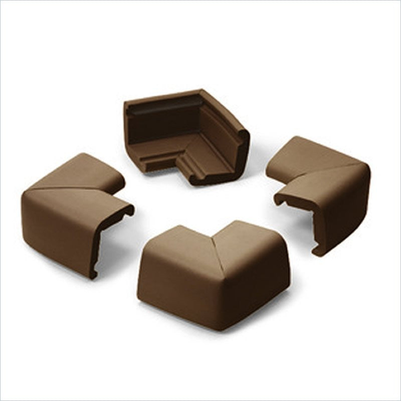 Prince Lionheart Jumbo Corner Guards in Chocolate