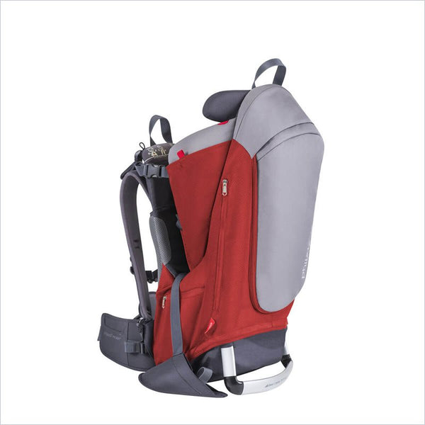 Phil & Teds Escape Baby Carrier in Red