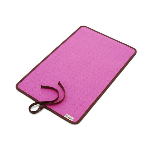 Zoli Baby OHM Diaper Changing Mat in Pink