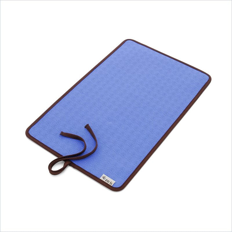 Zoli Baby Ohm Diaper Changing Mat in Blue