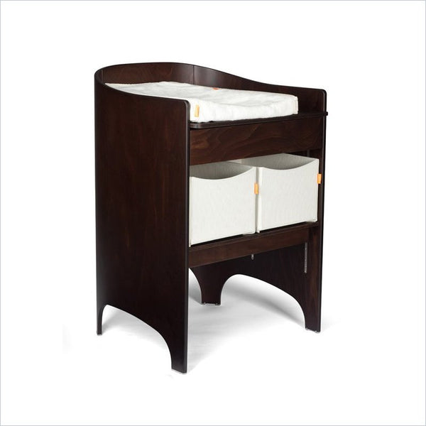 Leander Changing Table in Walnut Chocolate