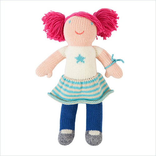 Bla Bla Mini Lola the Rocker Knitted Doll