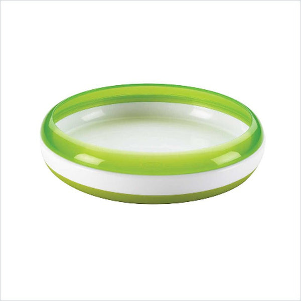 OXO Tot Baby Plate in Green