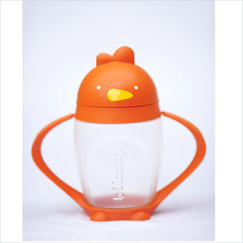 Lollacup Kids Sip Cup in Happy Orange