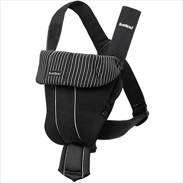 BABYBJORN Baby Carrier Original in Classic Black and Pinstripe