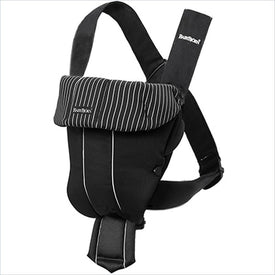 Baby Bjorn Baby Carrier Original in Classic Black and Pinstripe