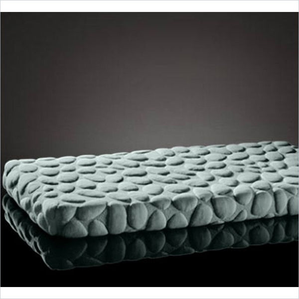 Nook Pebble Lite Crib Mattress in Glass